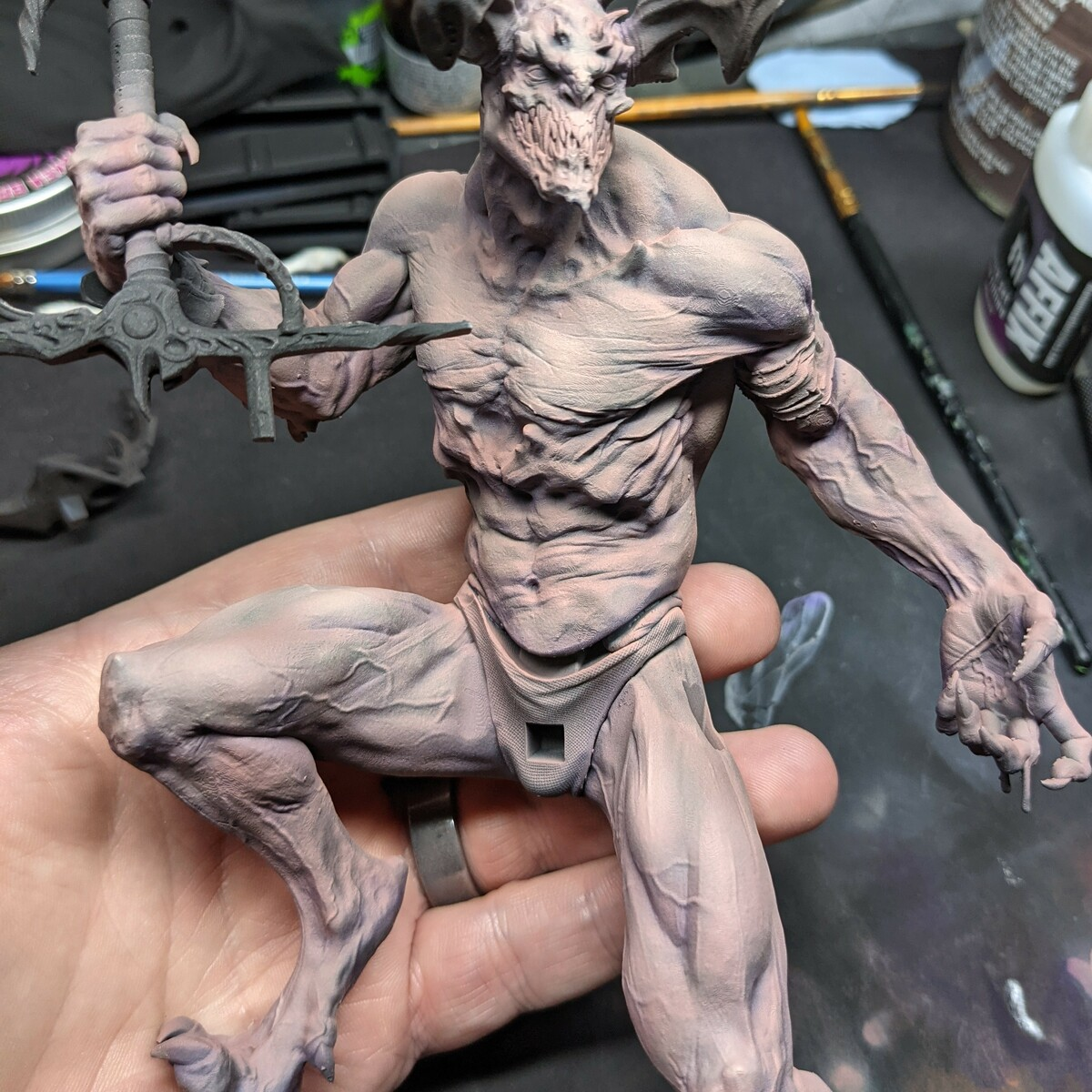 Demon (Human Flesh colored) Skin