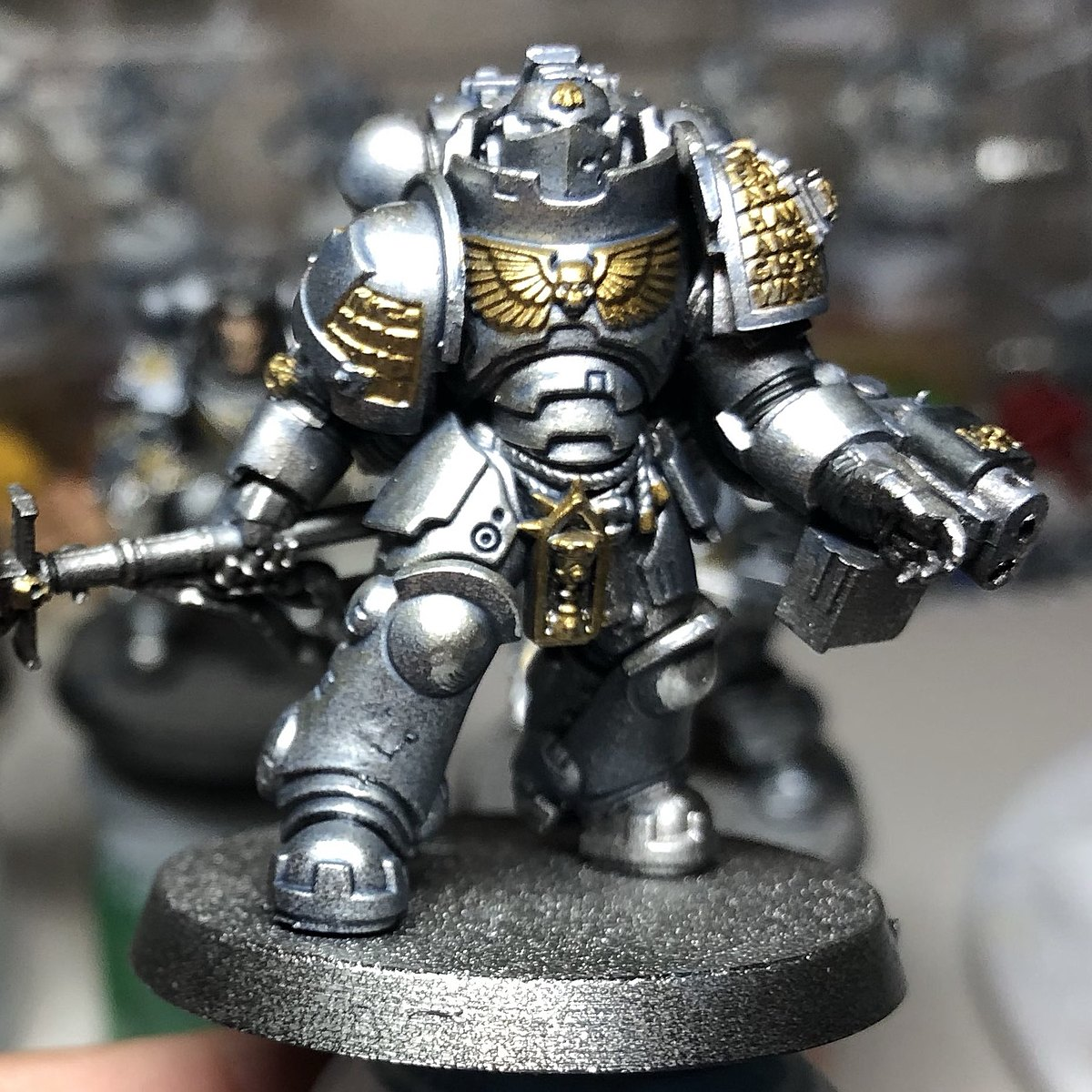 Grey Knights - Armour - TMM + Contrast
