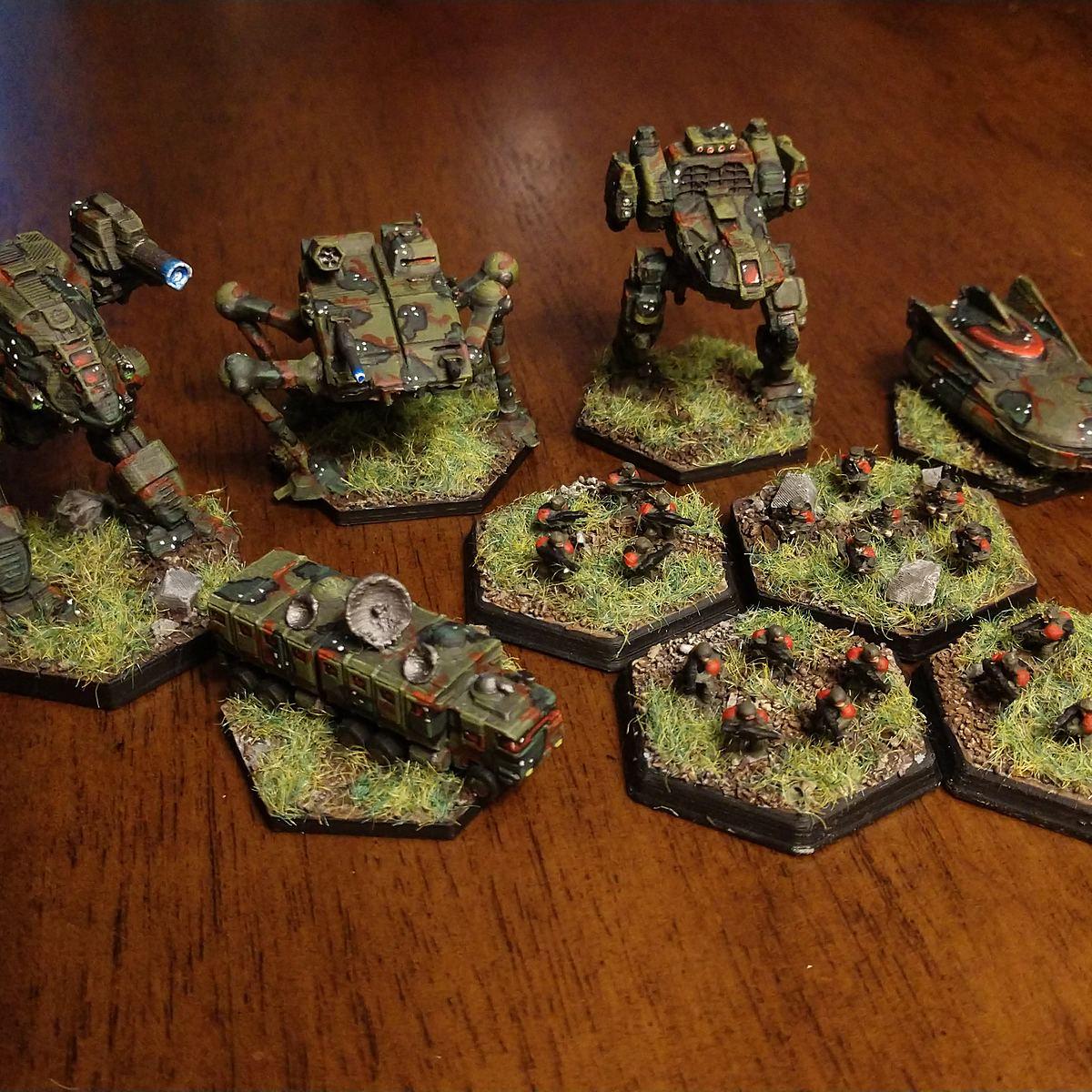 Battletech: Alpine Camo