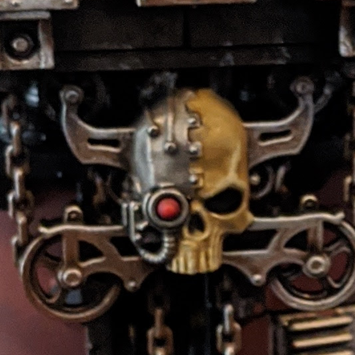 [40K] Servo-Skulls