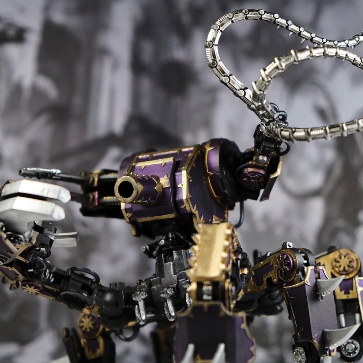 Purple and Brass Defiler