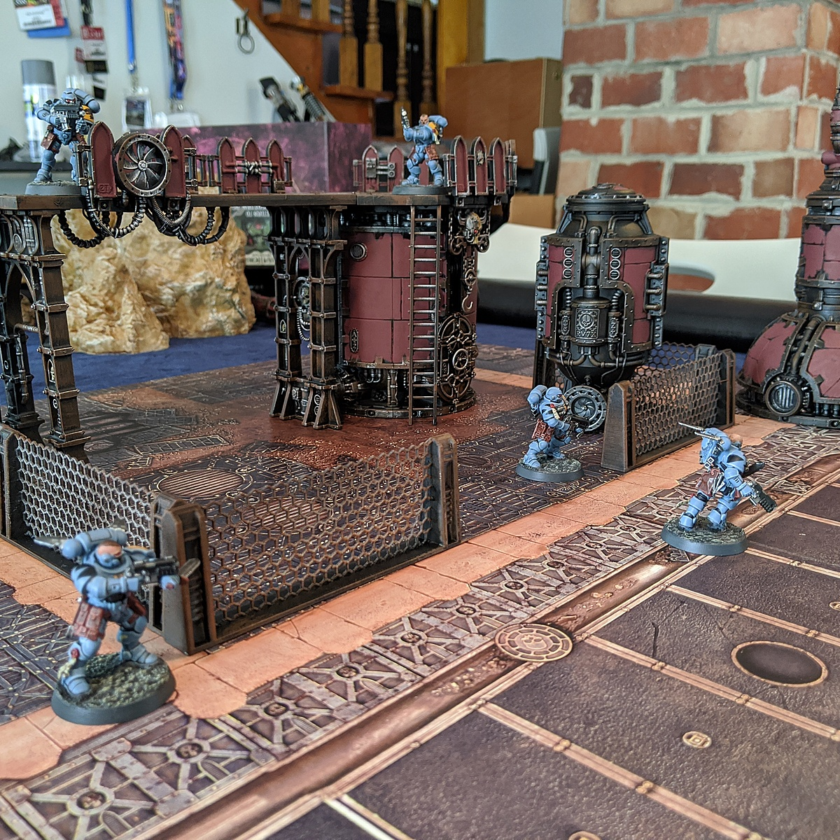 [40K] [Terrain] Industrial Red / Weathered Rust for Sector Mechanicus