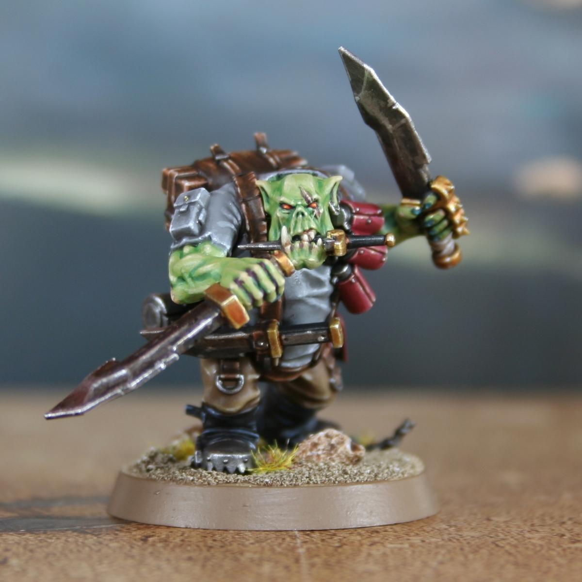 Green Ork Skin