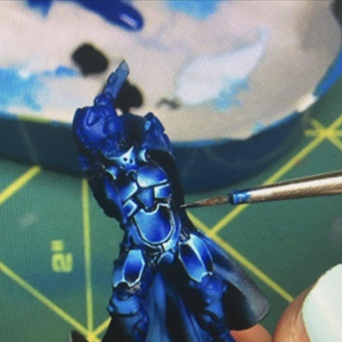 Blue NMM Armor - Infinity Panoceania