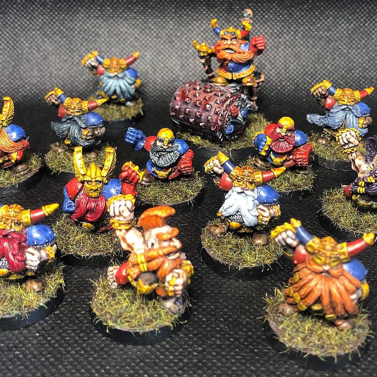 Grudge Bearers (3rd edition Blood Bowl Dwarfs)