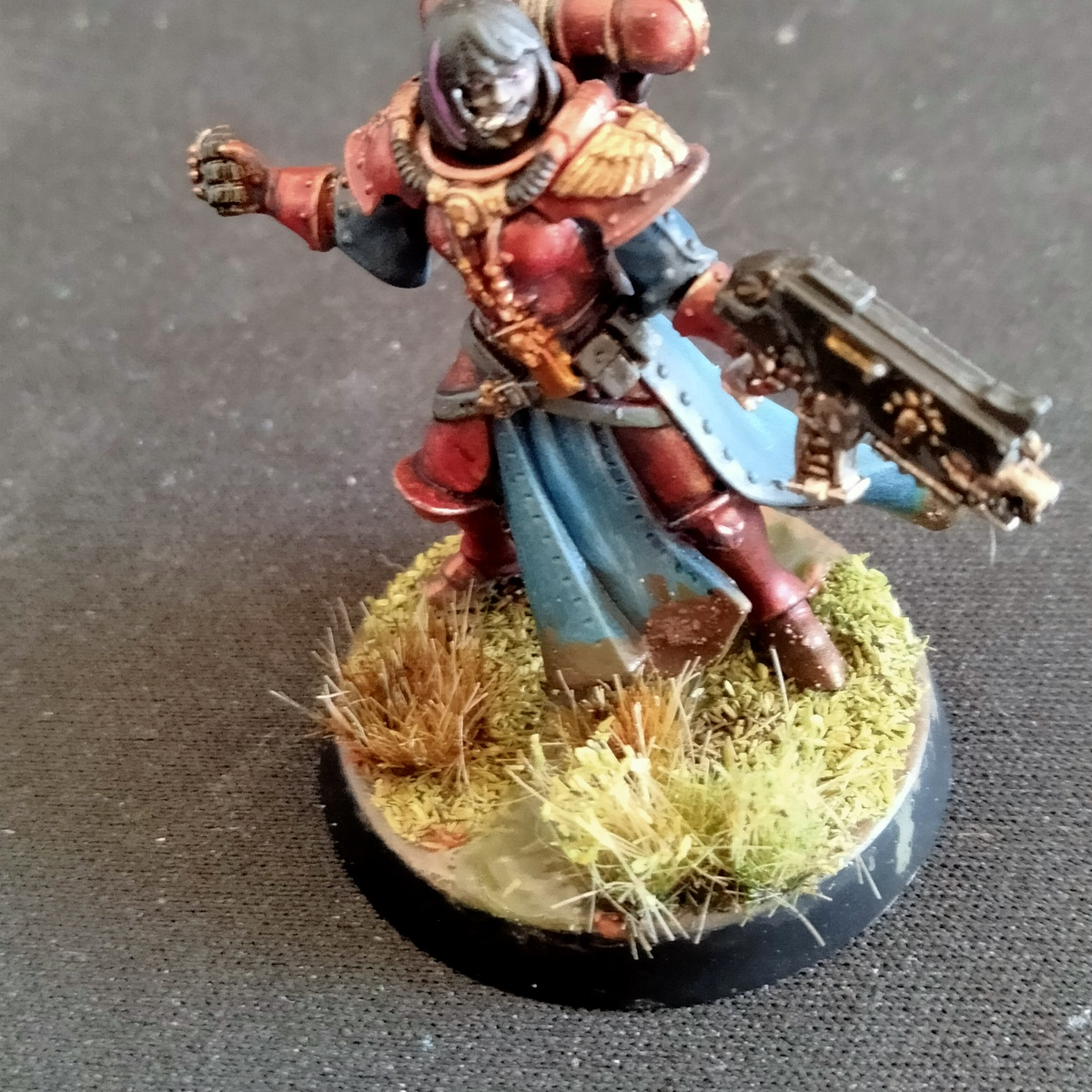 Sister Of Battle Red Armour