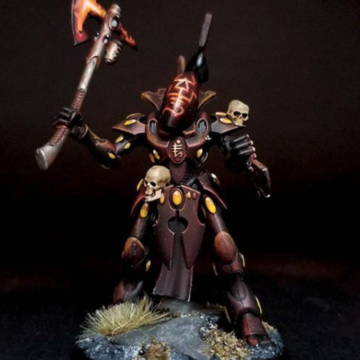 Eldar Wraith - Craftworld: Baharr