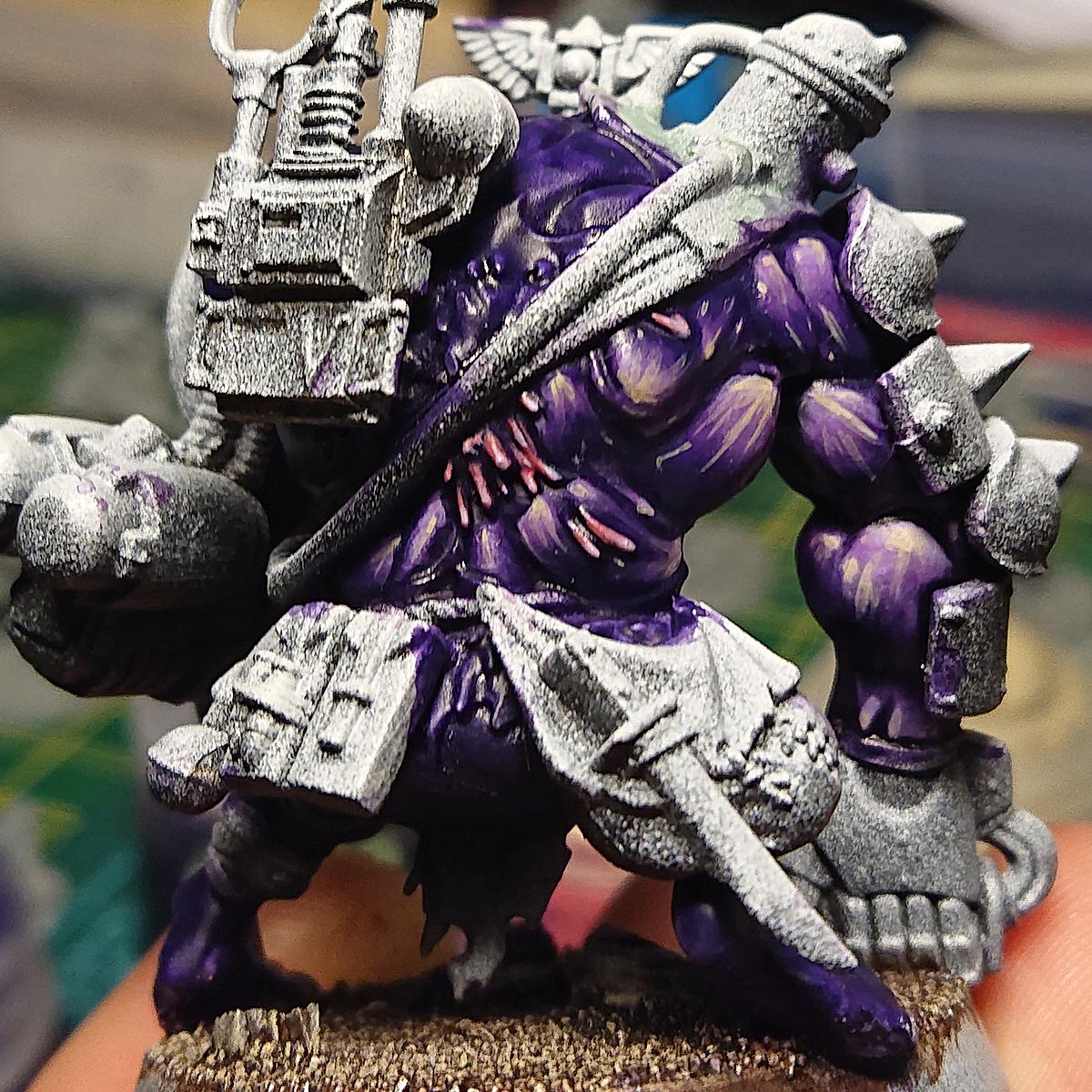 Purple skin tone