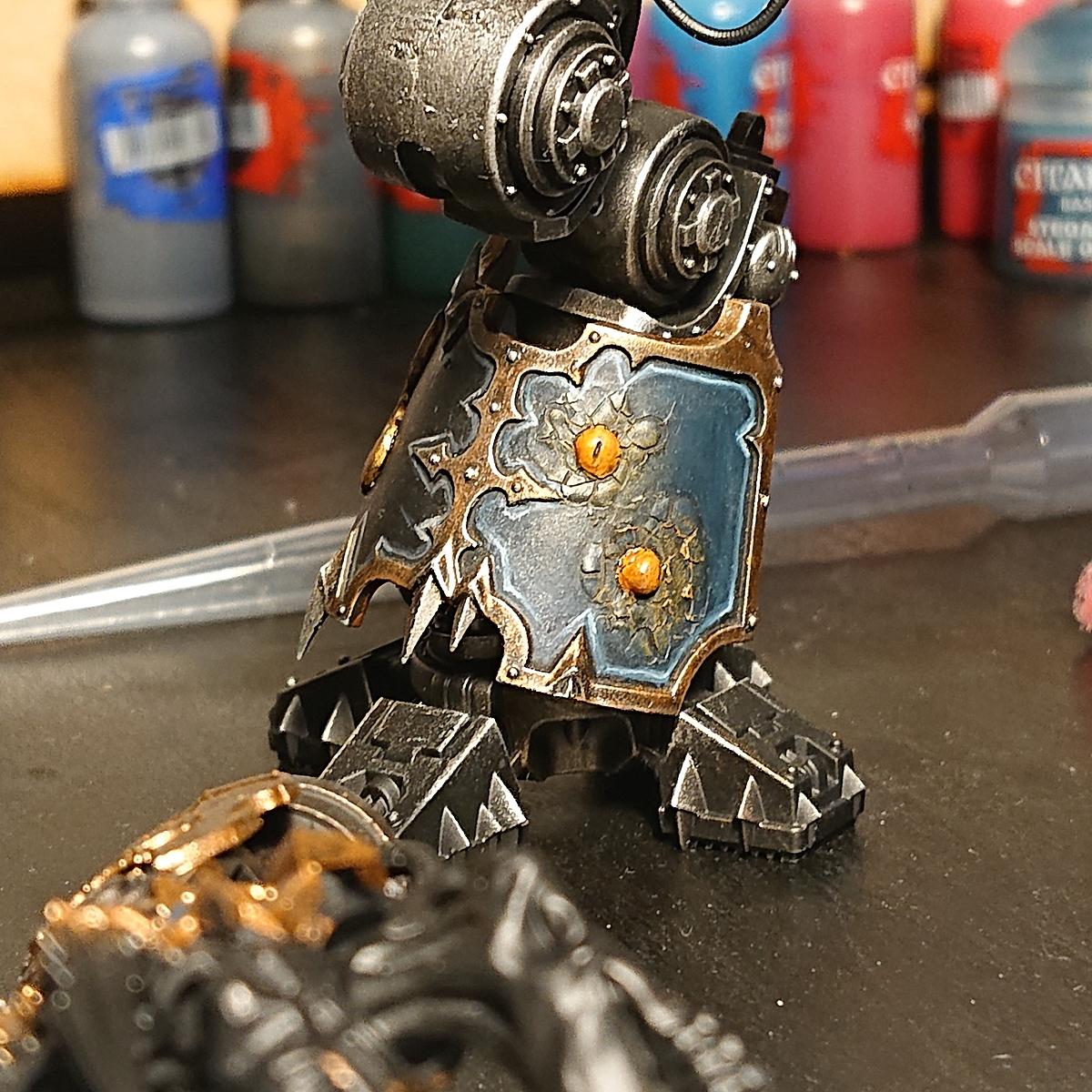 Chaos Knight blue panels