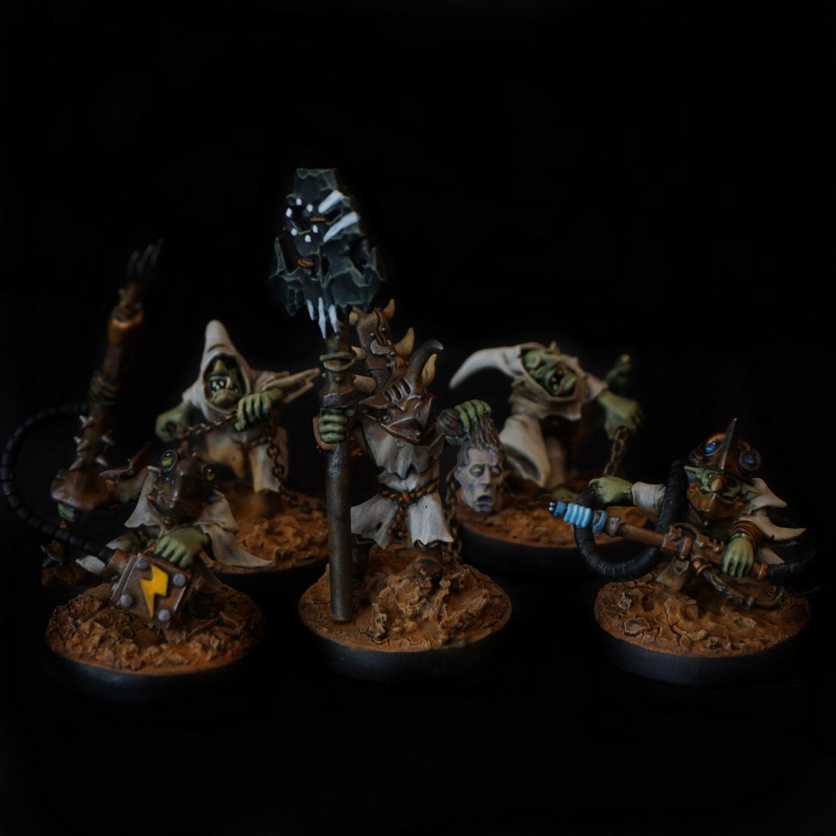 Cyboar Mek Gun Crew