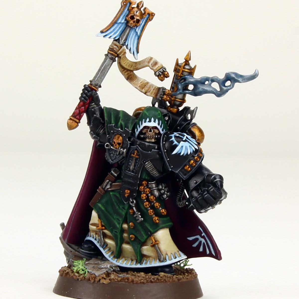Interrogator-Chapelain black armor