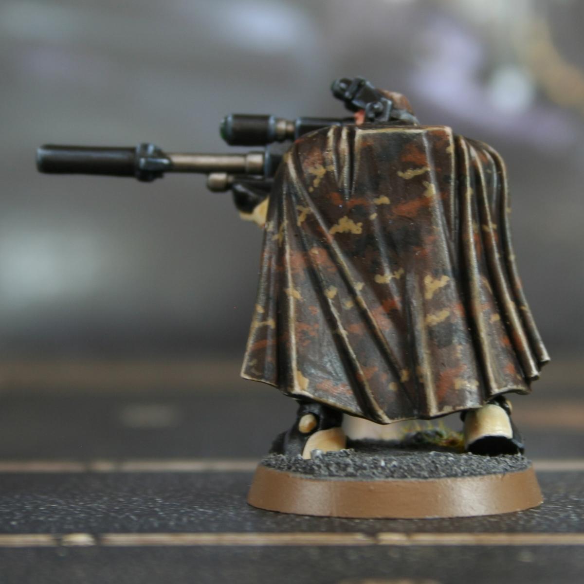 Brown Camo Cloak