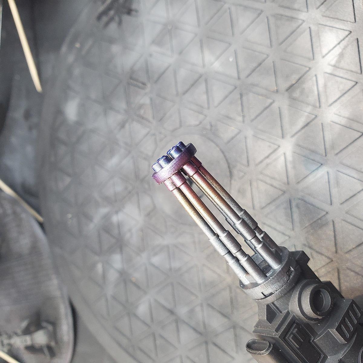 Heat effect - Gun Barrel