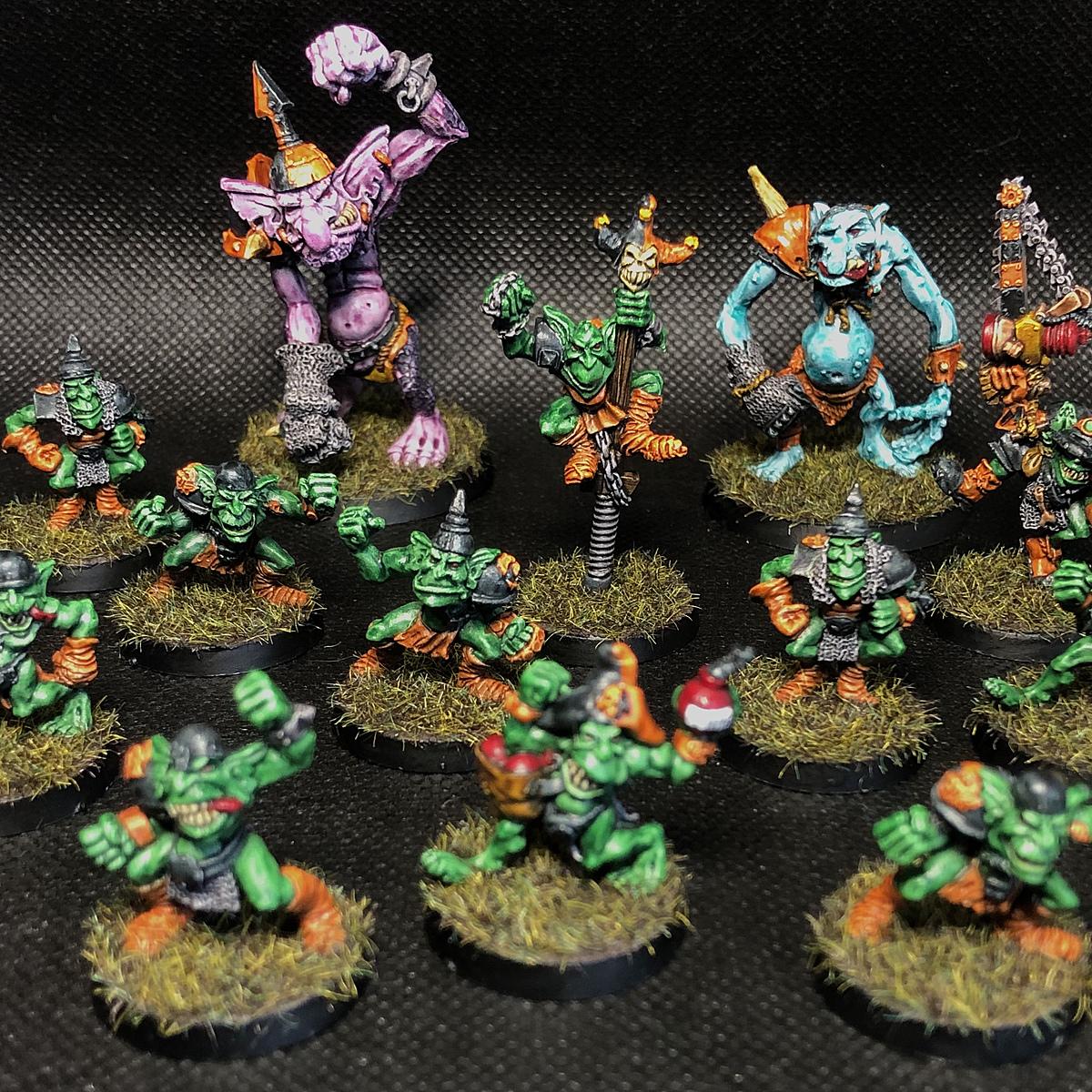 Da Greenboyz (3rd Edition Blood Bowl Goblins)