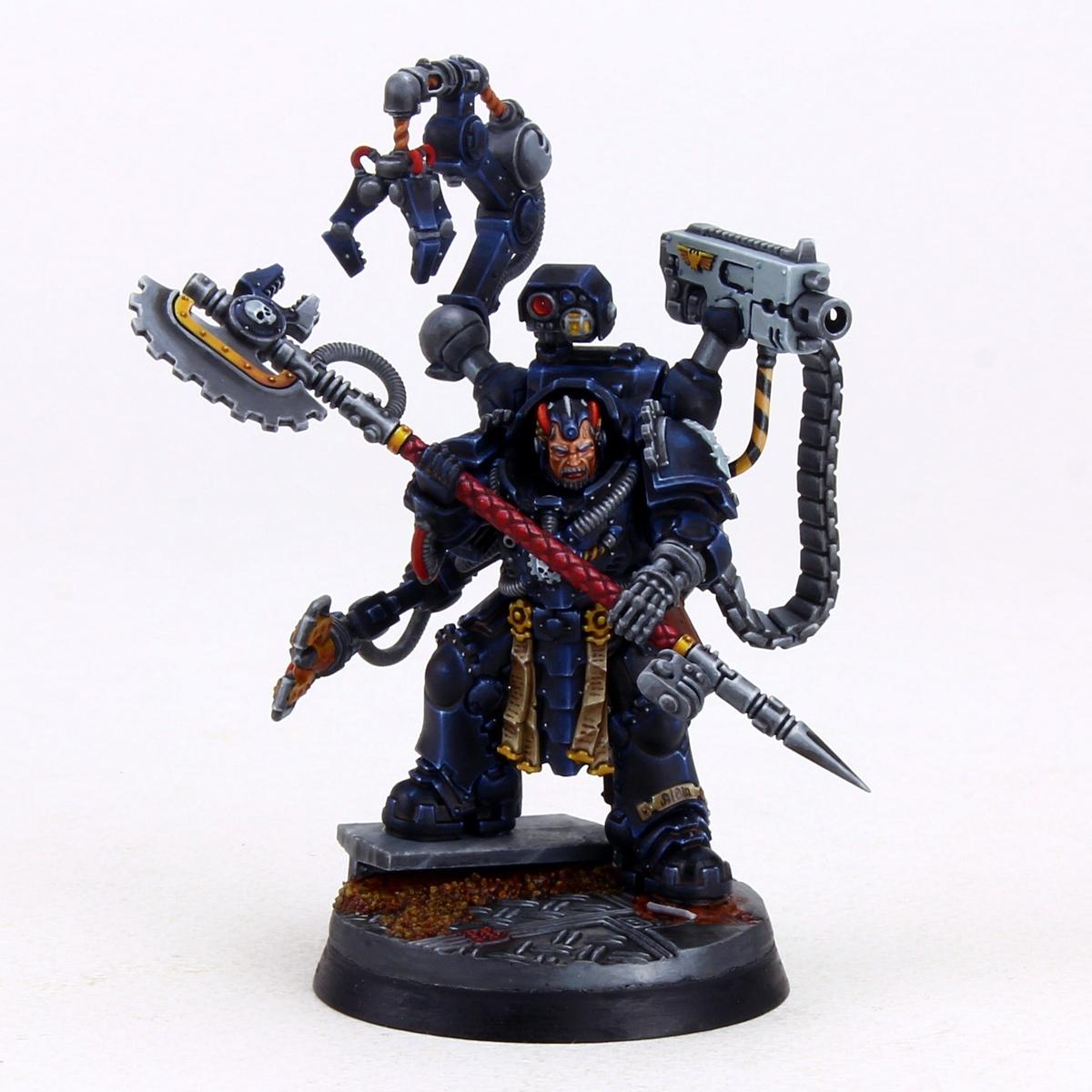 Malkaan Feirros black armor (NMM)