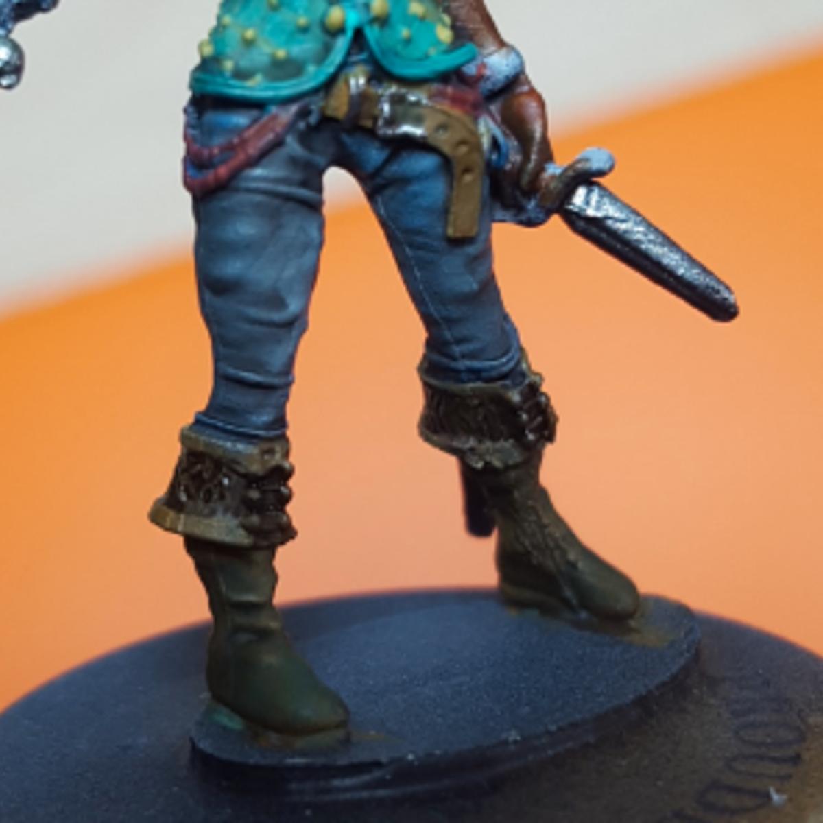 Trousers - Pirate captain (Efficool miniatures)