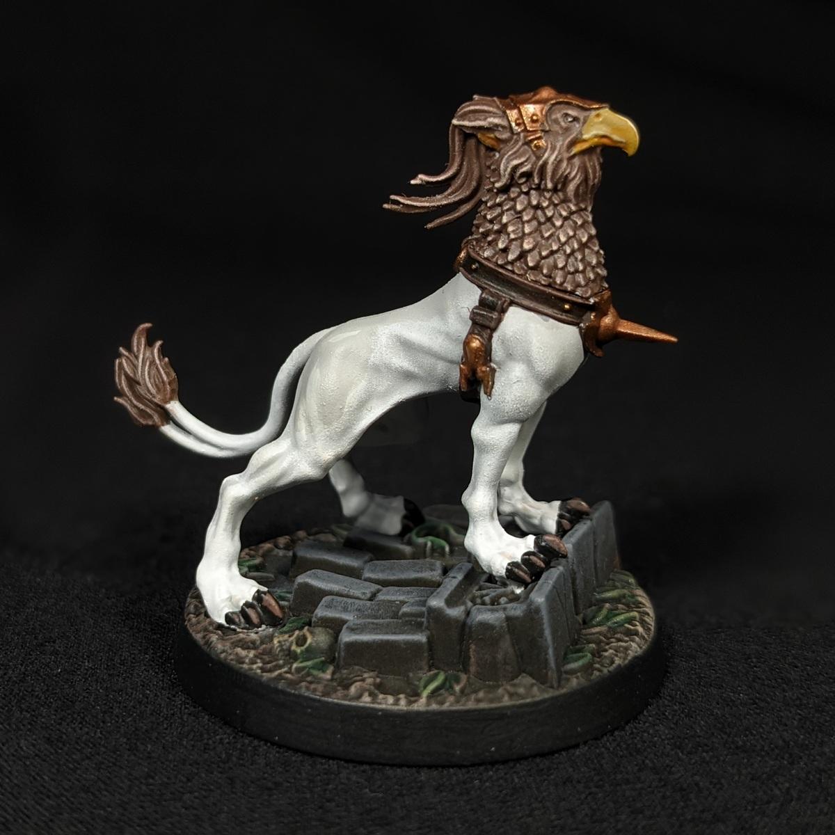 Gryph-hound (Light Grey)