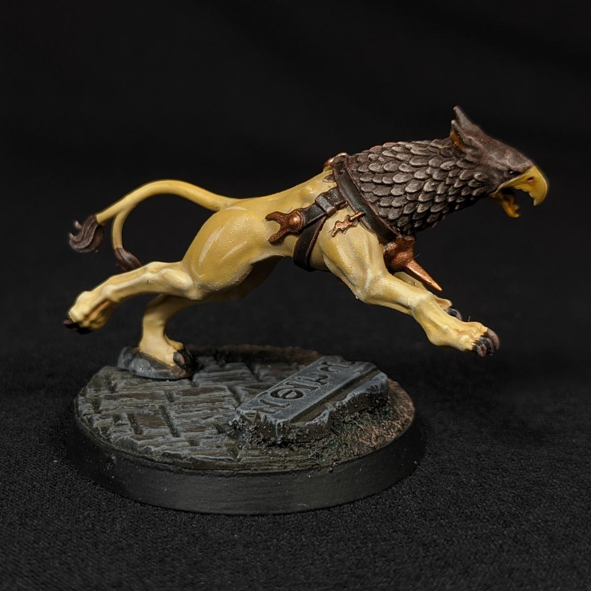 Gryph-hound (Ochre)