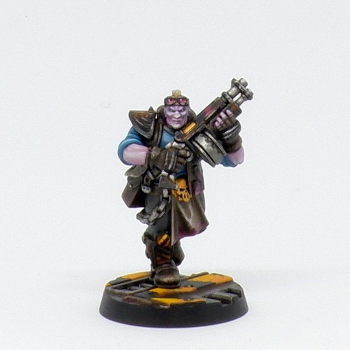 Orlock Gang - dull gold