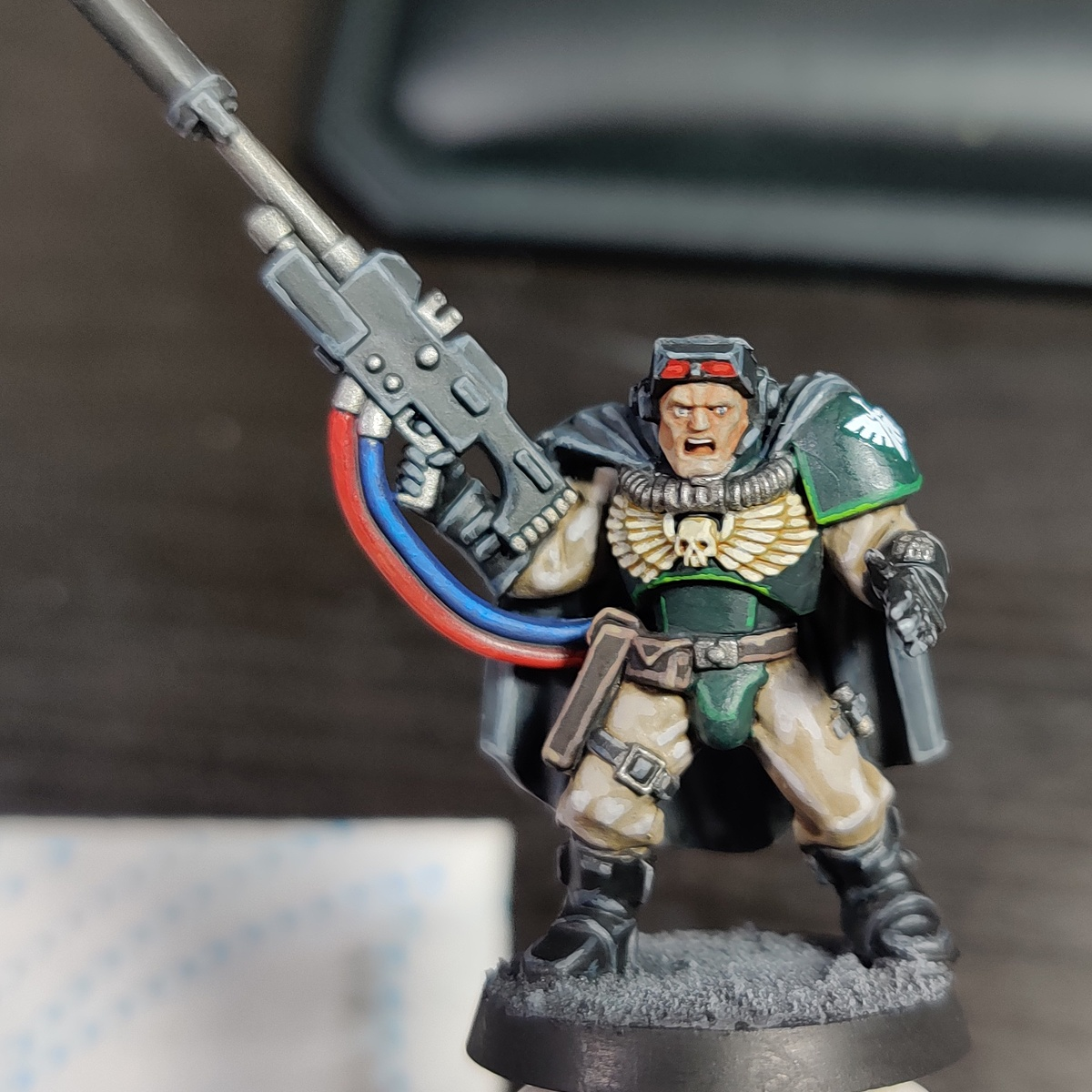 Dark Angels Scout Snipers