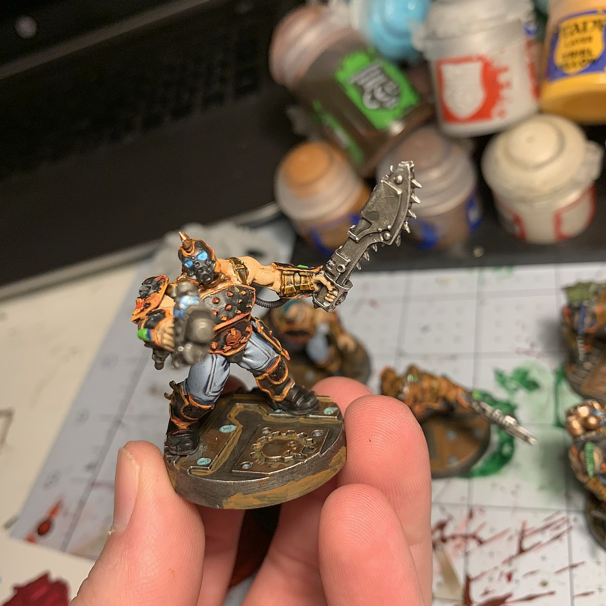Goliath Gang Paint Scheme