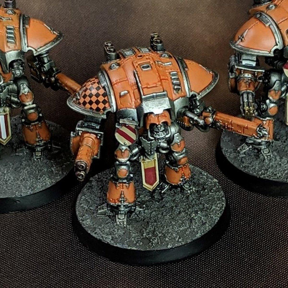 Questoris Knights (Titanicus) - Orange!