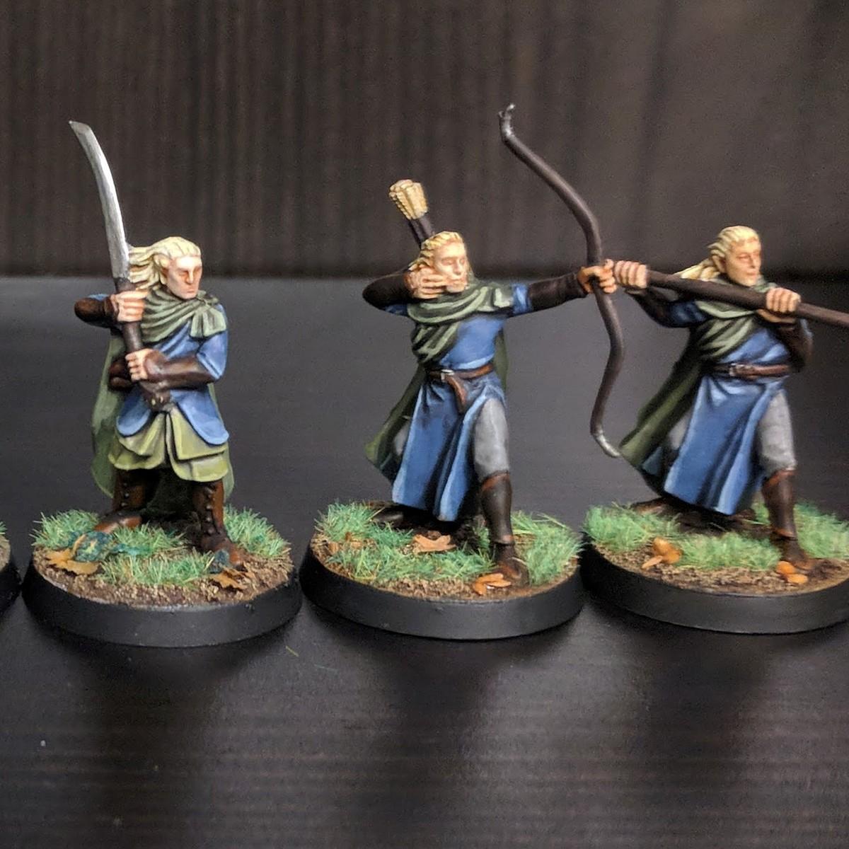 LOTR Wood Elf Warriors