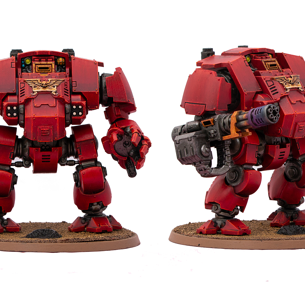 Blood Angels armour