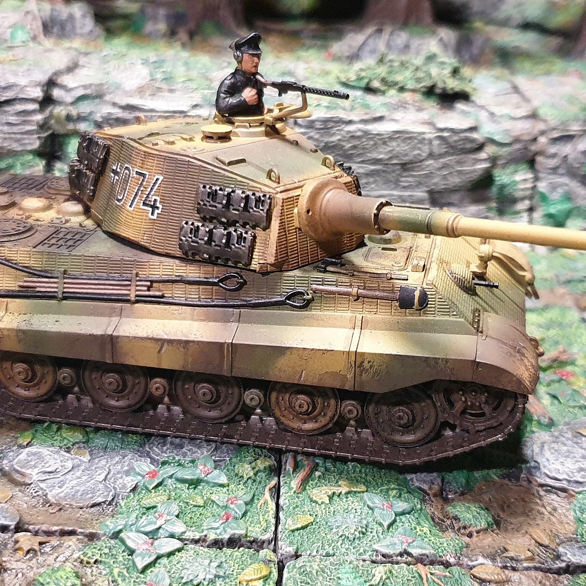 German WWII tanks - 3 Colour Camo
