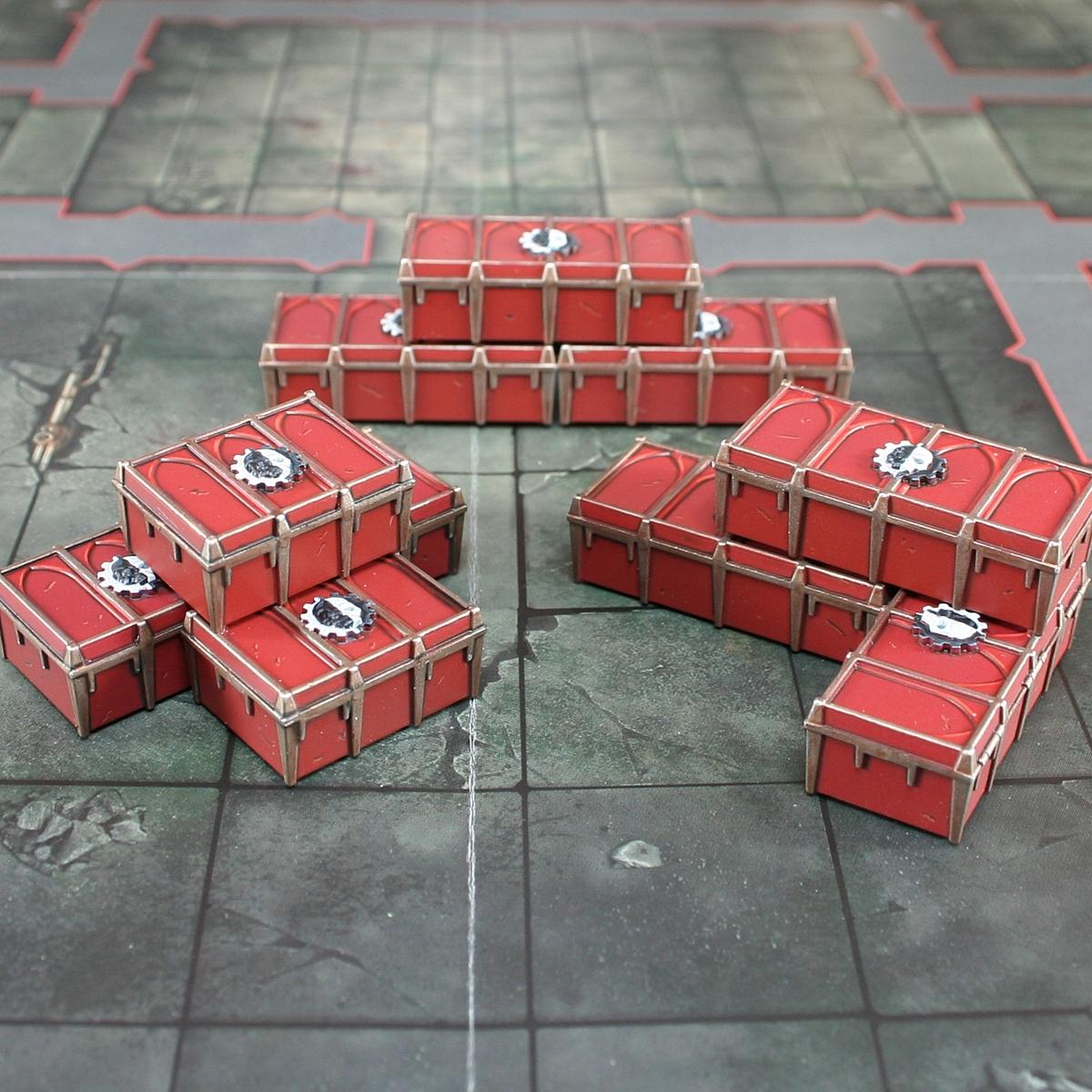 Adeptus Mechanicus Crates