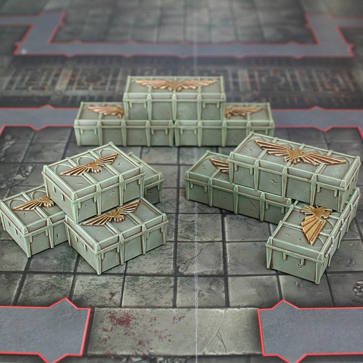 Astra Militarum Crates