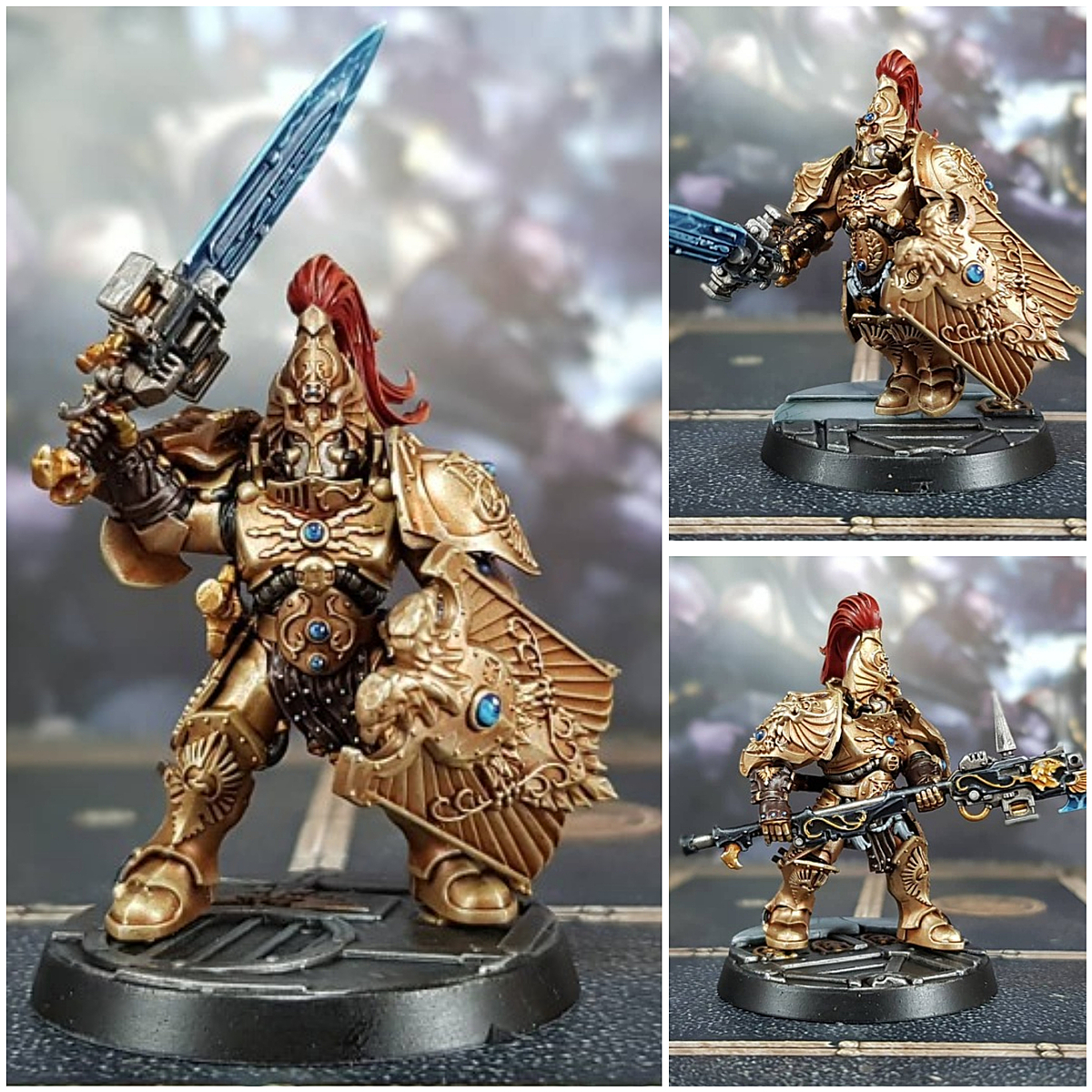 Custodian Guard Gold Armour