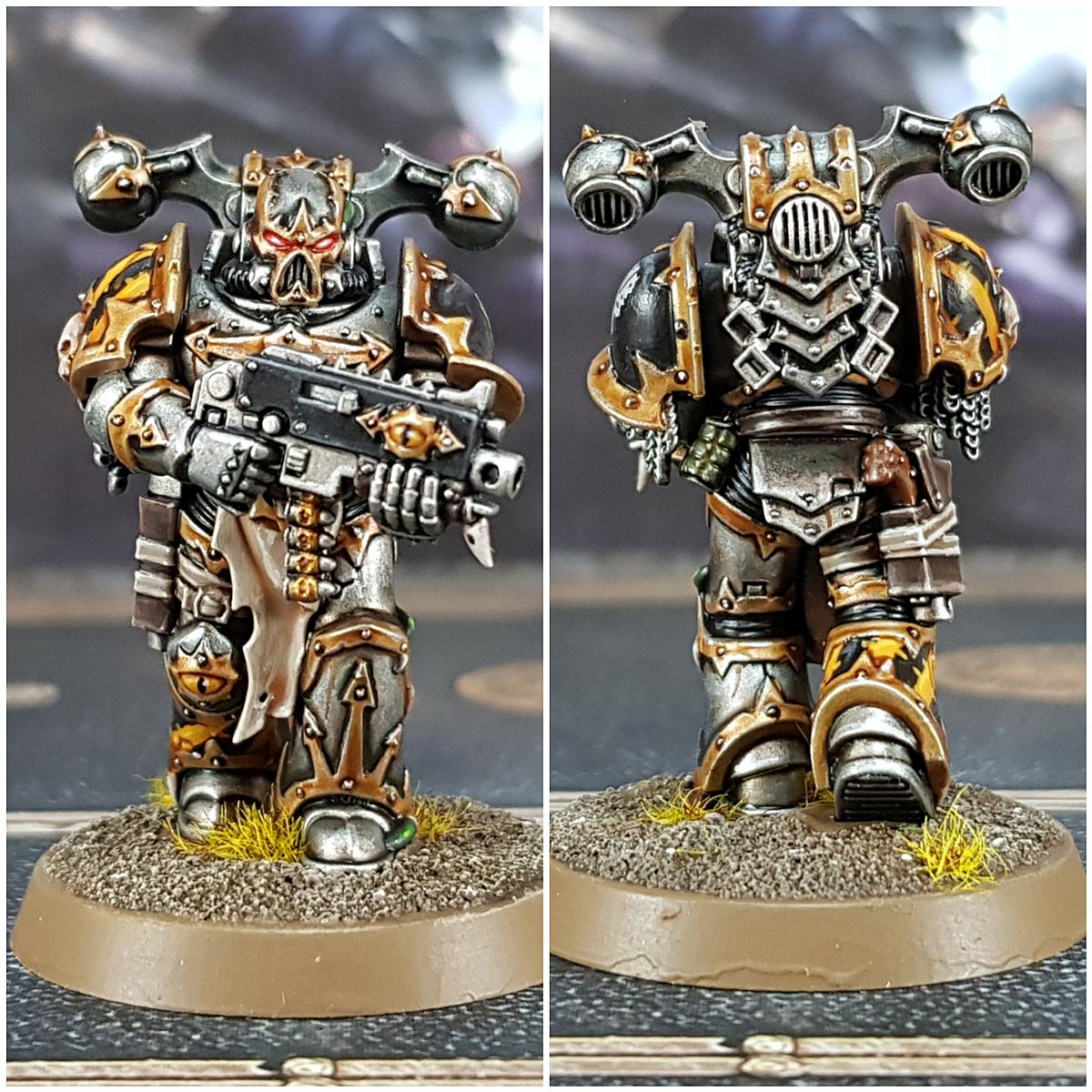 Iron Warrior Armour