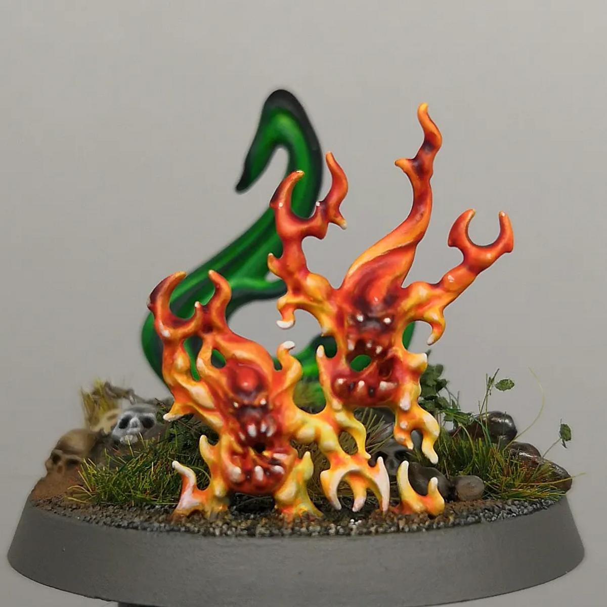 Brimstone Horror Flames