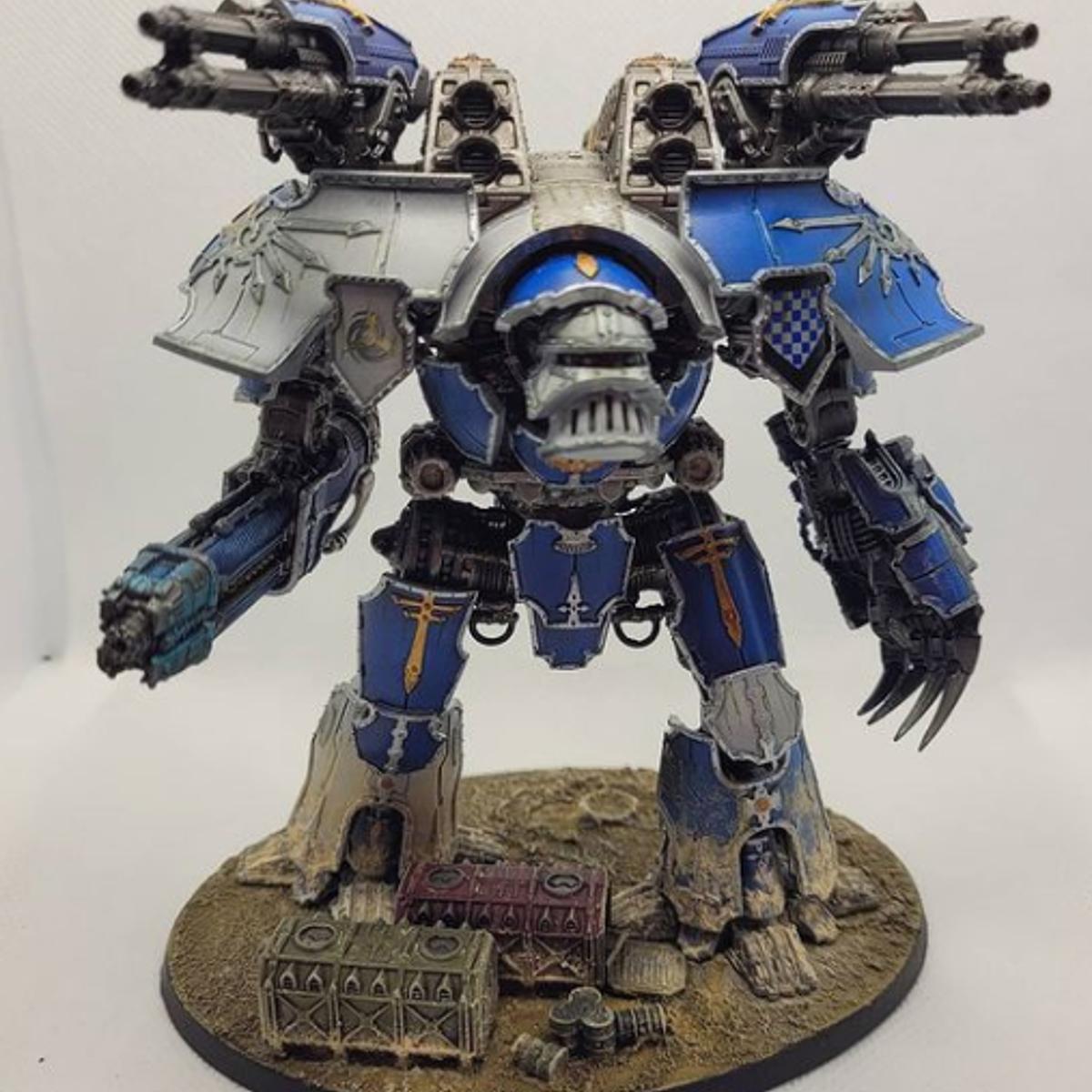 Legio Tempestus Blue