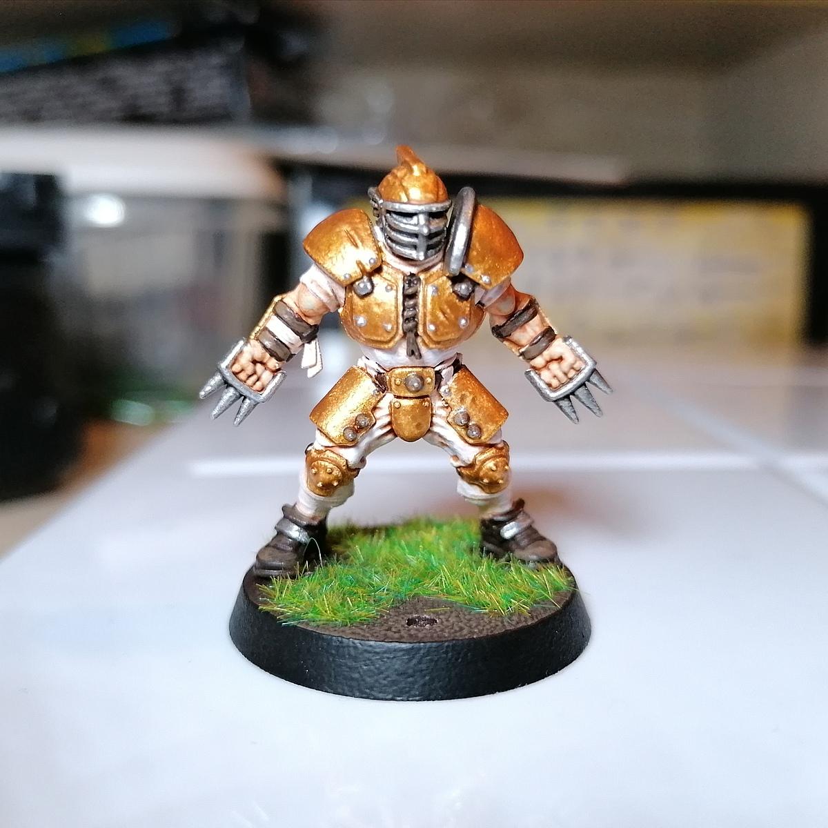 Gravewild Templars (Human Blood Bowl Team)