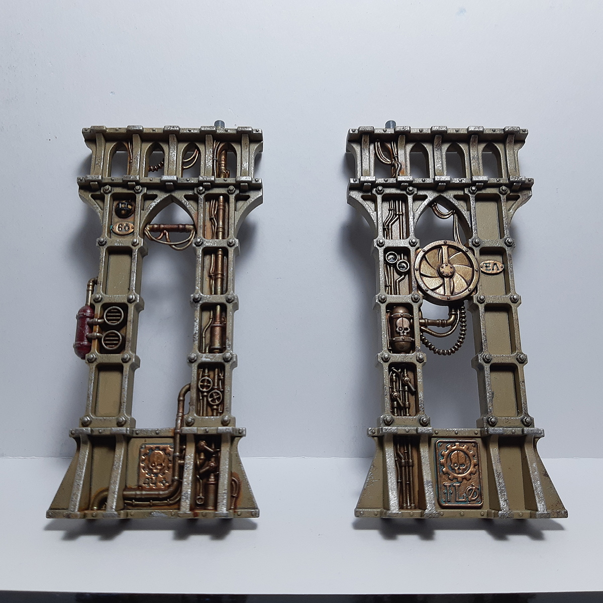 Sector Mechanicus Support Columns