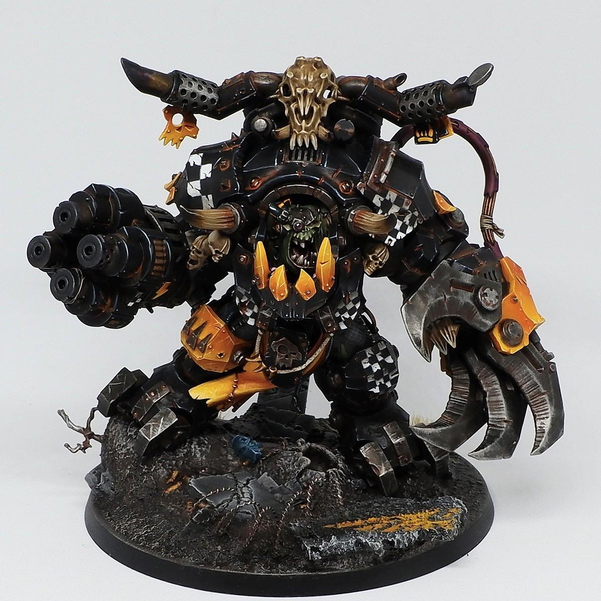 Ghazghkull Thraka - Rusted black