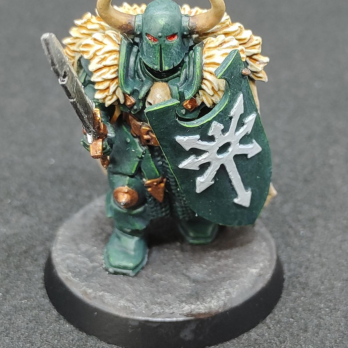 'Dark Angels' Chaos Warrior