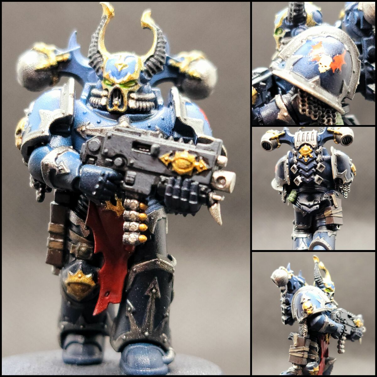 Quick Night Lords Armor [Airbrush]