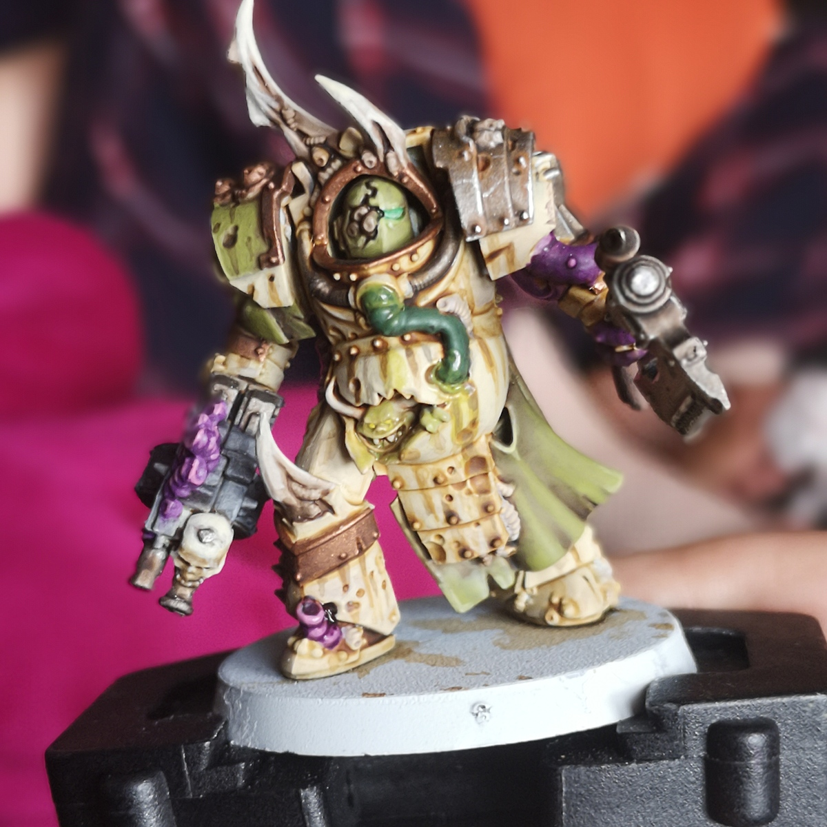 Death Guard HH-inspired armour
